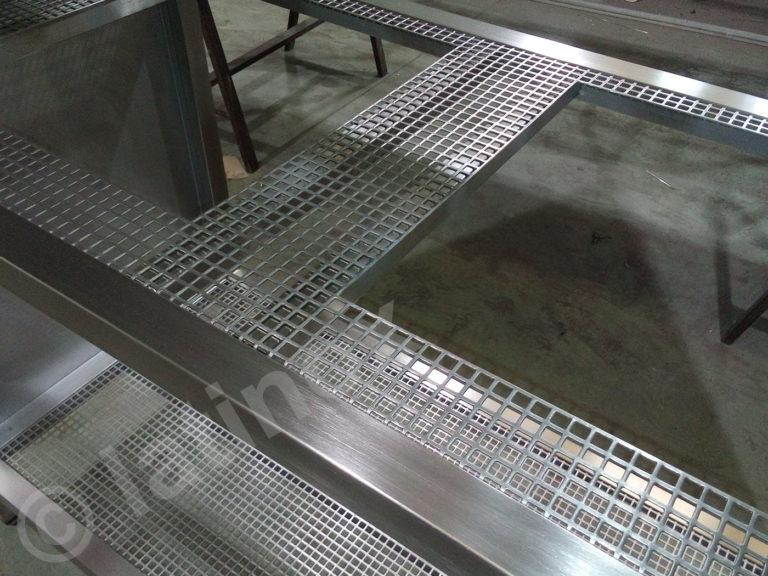Griglie in acciaio