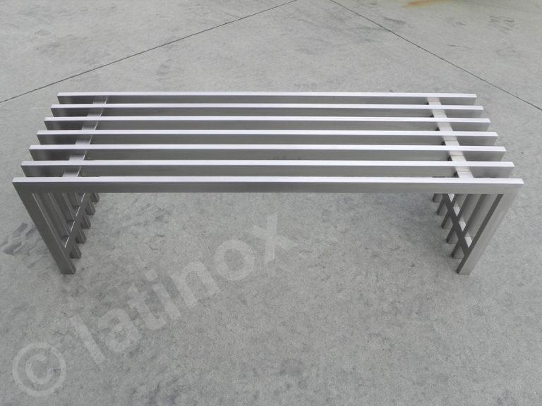 Panca in acciaio inox AISI 304