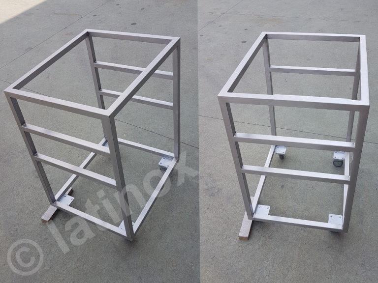 Strutture in acciaio inox